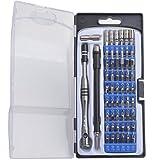 Gunpla Präzisions-Schraubendreher-Set 57 in 1, Werkzeugset Haushalt Reparaturtool mit Sicherheit-Torx-Bit für iphones, PCs, Handy, Uhren, Kameras und alle Elektronischen Geräte