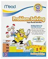 Mead 3rd Grade 問題解決ワークブック 10 x 8インチ 96ページ (48032)