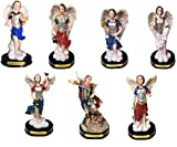 7 Arcangeles-Zadquiel,Miguel,Grabiel,Jofiel,Rafael,Uriel & Baraciel New Set Los 7 Angeles 5' Pulgadas