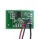 ZGQA-AOC Botón 12V Un Canal táctil capacitiva Clave del módulo del Sensor de Encendido del Equipo con Accesorios Módulo de Funciones de relé de Bloqueo automático