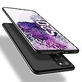 X-level Samsung Galaxy S20 Plus Hülle, [Guardian Serie] Soft Flex TPU Case Ultradünn Handyhülle Silikon Bumper Cover Schutz Tasche Schale Schutzhülle für Samsung Galaxy S20 Plus 5G - Schwarz