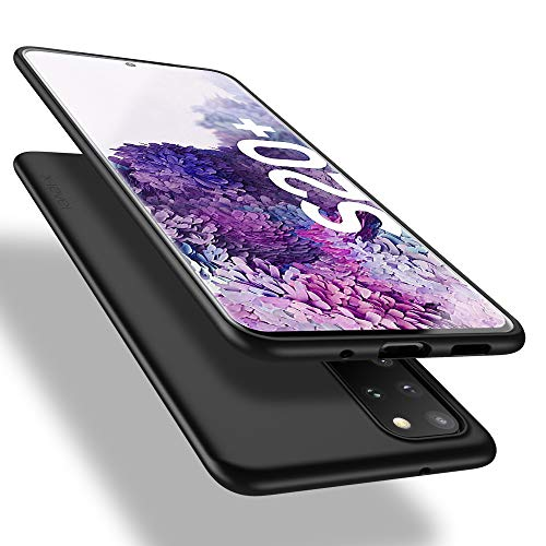 X-level Samsung Galaxy S20 Plus Hülle, [Guardian Serie] Soft Flex TPU Hülle Superdünn Handyhülle Silikon Bumper Cover Schutz Tasche Schale Schutzhülle für Samsung Galaxy S20 Plus 5G - Schwarz