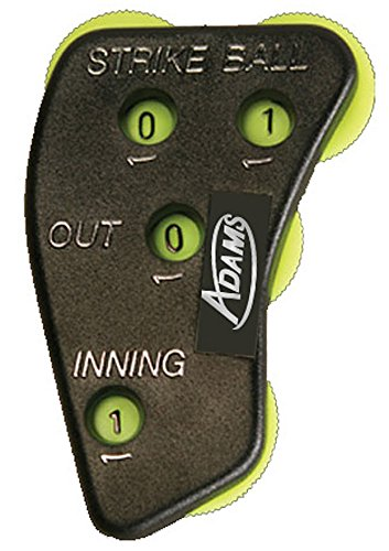 Adams USA UMI-4-YLW Umpire Indicator Function Retail Packaged, Yellow
