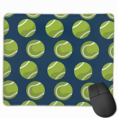 Cartoon Tennisball Blue Mouse Pad, rutschfeste Mausmatte für Desktops, Computer, PC und Laptops, kundenspezifisches Mousepad
