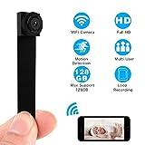 Mini Cámara, ieGeek Cámara de Seguridad Pequeña Full HD 1080P,...