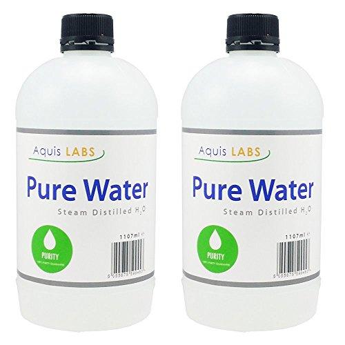 Destillerat vatten – 1107 ml – 2-pack – Ultra rent vatten