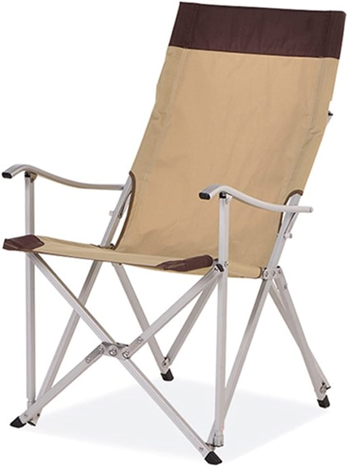 Stool Folding Chair Ergonomics Portable Sturdy Lounge Deck Chair for Fishing Camping