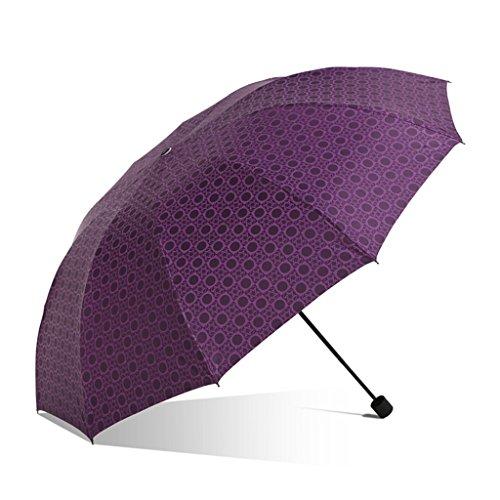 Paraguas Sombrillas para hombre y mujer, eficaz repelente al agua, protección solar UV c