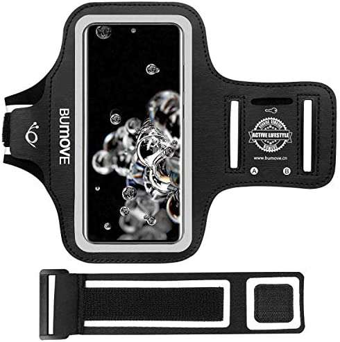 Galaxy S21 Ultra S20 Ultra S10 5G Armband BUMOVE Gym Running Workouts Sports Cell Phone Arm product image