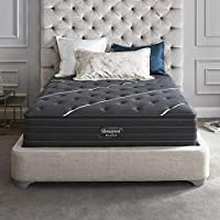 Simmons Beautyrest Queen Black C Class Plush 13.75 Inch Mattress + $300 Gift Card