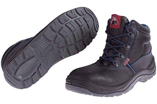 ASS® Herren Sicherheitsschuhe S3 SRC - Echt Leder - Stahlkappe Größe: 40