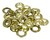<span class='highlight'><span class='highlight'>Toolzone</span></span> 20Pc Brass Coated Steel Eyelets/Grommets for Tarpaulin Repair Kit by <span class='highlight'><span class='highlight'>Toolzone</span></span>