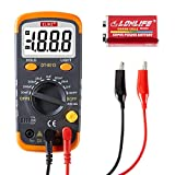 ELIKE Digital Capacitor Tester,0.1pF to 20mF High Precision Capacitance Meter with LCD Display,Data Hold, Back Light Function,DT6013