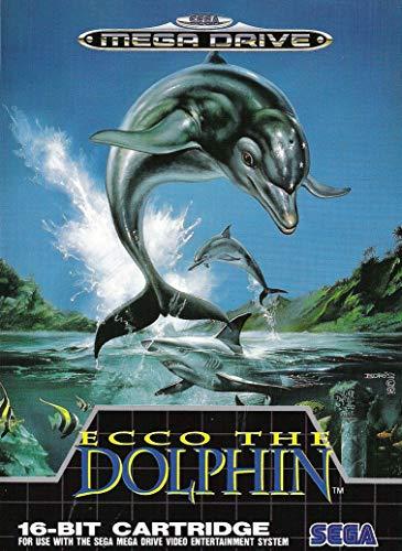 ELITEPRINT Póster de ECCO The Dolphin Sega Mega Drive Classic de 250...