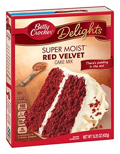 Betty Crocker Red Velvet Cake Mix 432g (Betty Crocker Rote Samtkuchenmischung)