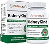 #1 Kidney Support & Detox Supplement | Natural Kidney Cleanse and Bladder Care Formula for Urinary and Kidney Health | Buchu, Juniper, Uva Ursi, Cranberry & Nettle Leaf | 60 Vegetable Capsules