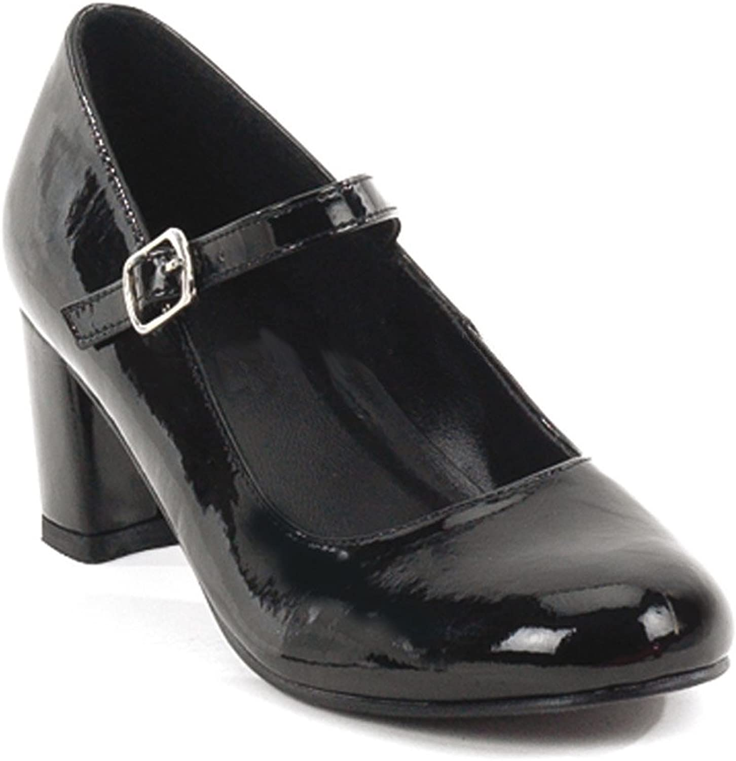 Funtasma by Pleaser Women's Schoolgirl-50 Mary Jane Black Patent Size -7