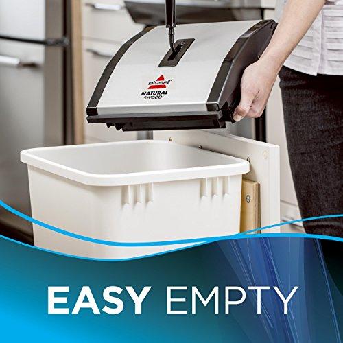 Bissell 92N0N Natural Sweep Kehrer, für Hartböden und Teppiche, kabellos, benötigt keinen Strom - 4