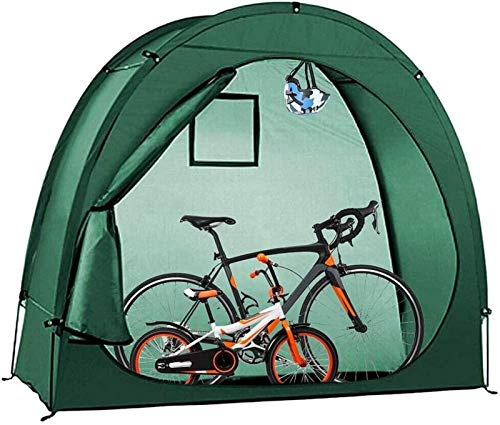 QIBIN Bike Storage Shed Waterproof Dustproof Bicycle Cover Shelter, for Outdoors Camping Home Garden Mountain Bicycle Storage