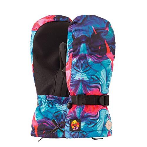 Pow! Falon Mitt Womens Ski Gloves X Small Swirl