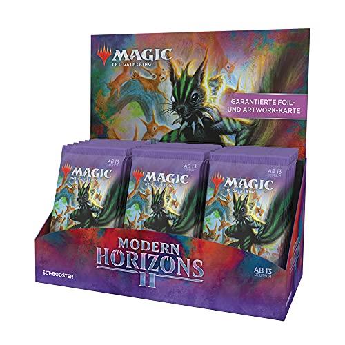 Magic the Gathering Modern Horizons 2, Set Display, 30 Booster (Deutsche Version)