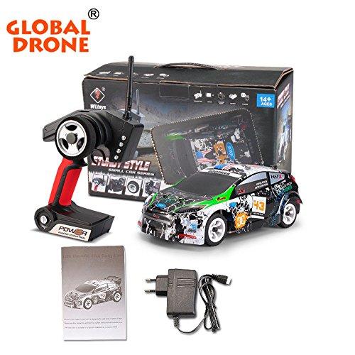 Accessori Drone,Wltoys K989 1/28 2.4G 4WD RC spazzolato Telecomando Rally Car RTR con trasmettitore