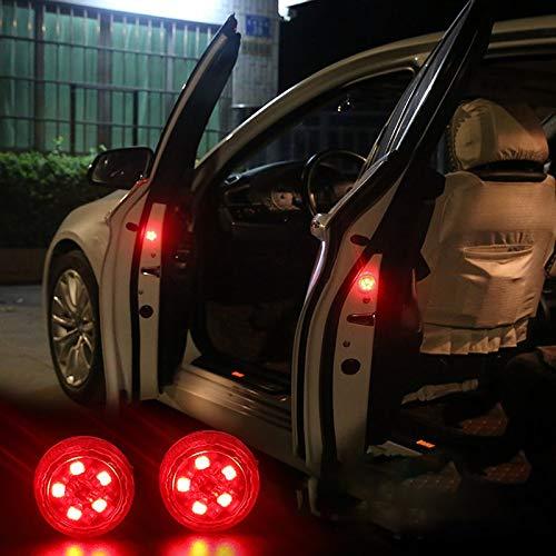 BianchiPamela Wireless Car Door Opened Warning Light Safety Avoid Crash Flash Signal Light