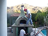 CALIFORNO GARZONI-350 OUTDOOR WOOD BRICK PIZZA OVEN KIT