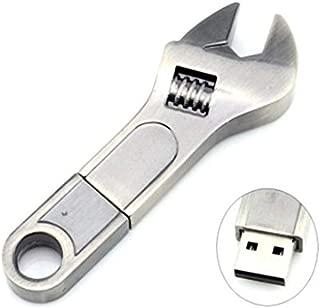 Outflower USBメモリ 32GB マイクロUSB 高速 USB2.0 フラッシュメモリ 防水 安い USBフラッシュドライブ タブレット パソコン USBフラッシュ かわいい 人気 レンチ