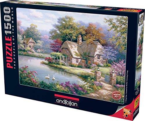 Anatolian/perre Group - Ana.4529 - Puzzle Classique - The Swan Cottage - 1500 Pièces