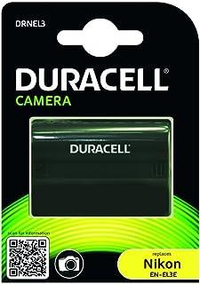 Duracell DRNEL3 - Batería para cámara digital 7.4 V 1400 mAh (reemplaza batería original de Nikon EN-EL3/a/e)