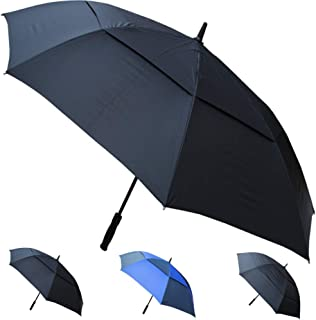 60in Arc Windproof 60MPH EXTRA STRONG Golf Umbrella