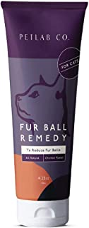 Petlab Co. Fur Ball Remedy | Cat Hairball Health ChickenFlavorPaste, Promotes Healthy Skin, and Coat | Soybean Oil, Vita...