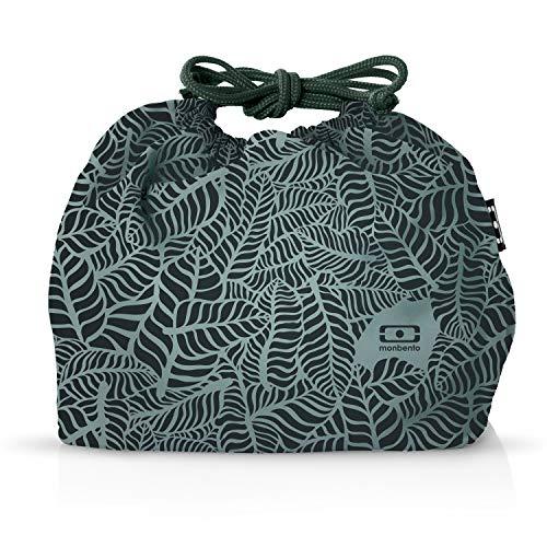 monbento - MB Pochette Lunch Tasche - Polyester Bento Tasche - Geeignet für MB Original MB Square & MB Tresor Bento-Boxen (M, Jungle)