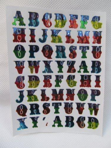 fat-catz-copy-catz Autocollants Lettres Alphabet A-Z récompense 550+ pour Enfants, Motivation mérite louange Professeur école, carterie