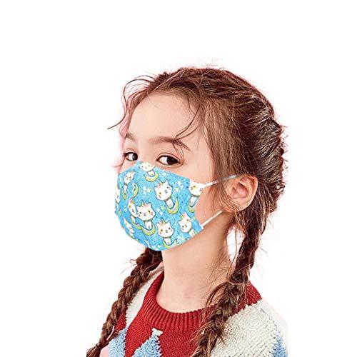 Nobran Kids Baby Printing Farbe saktiver Filter Safet Protect Thin Type Ohrschutz Schutz_Maske, Gesichtsschutz_Mundschutz