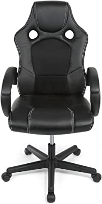 Gaming Chair Racing Office ComputerHigh-Back Faux PU Leather Ergonomic Backrest And Seat Height Adjustment