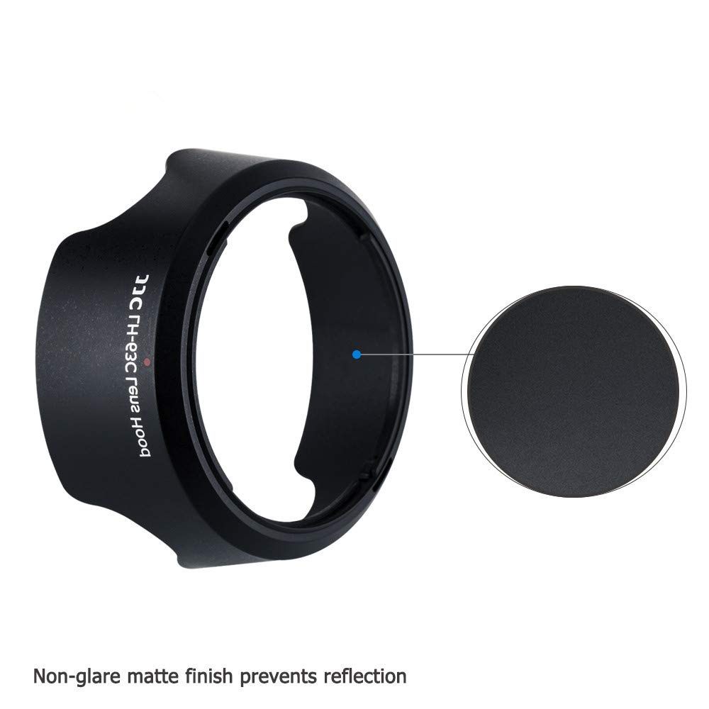 Reversible Lens Hood Shade Protector for Canon EF-S 18-55mm F3.5-5.6 IS STM & EF-S 18-55mm F4-5.6 IS STM Lens on Camera Rebel T8i T7i T6i T5i SL3 SL2 EOS 90D 80D 77D 70D 850D 800D Replace Canon EW-63C