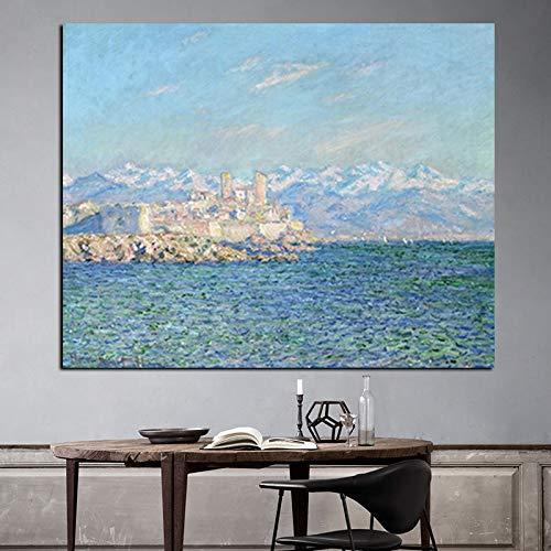 HD Landschaft Ölgemälde Leinwand Kunst Poster Wandbild, Wohnzimmer Sofa Schlafzimmer rahmenlose dekorative Malerei A53 30x40cm