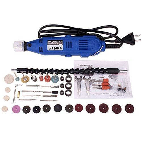 GOZAR 220V 180W elektrisch draaigereedschap mini drill met 40st elektrisch gereedschap