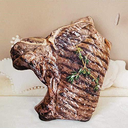 N/D Plüschtier Simulation Simulation Lebensmittelform Plüschkissen Kreatives Fleisch Truthahn Rindfleisch Bier Plüschtier Gefülltes Sofakissen Wohnkultur Lustige Geschenke