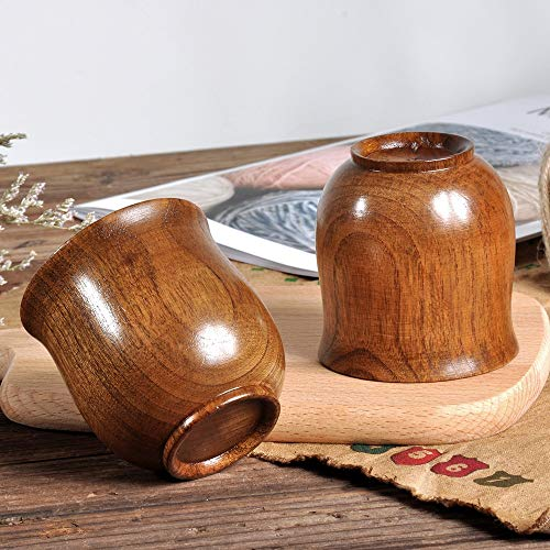 2019New Wooden Cup Log Color Handmade Natural Wood Coffee Tea Beer Juice Milk Mug Catering Supplies Household Tea Drinking Tool
