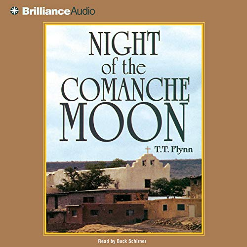 Night of the Comanche Moon audiobook cover art