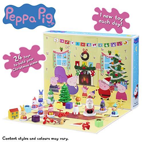 Peppa Pig 07136 Advent Calender, Multi