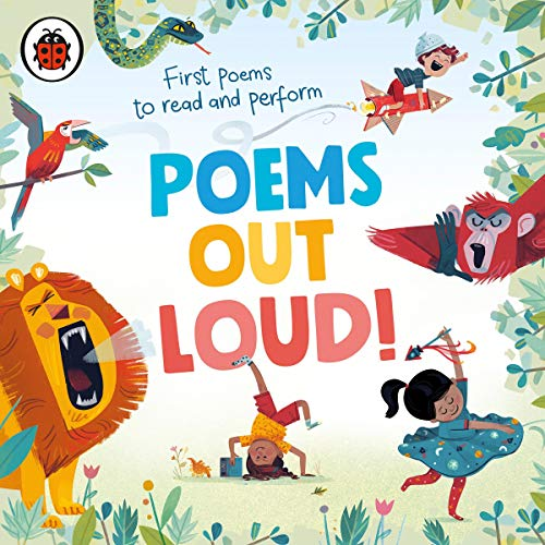 Poems Out Loud! audiobook cover art