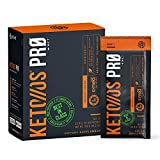 Pruvit Keto Os Pro Orange Dream Mct Ketones - Dietary Supplement for Energy Boost, Better Digestion and Helps Combating the Aging Process 20 Count