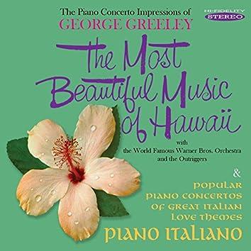 The Most Beautiful Music of Hawaii / Piano Italiano