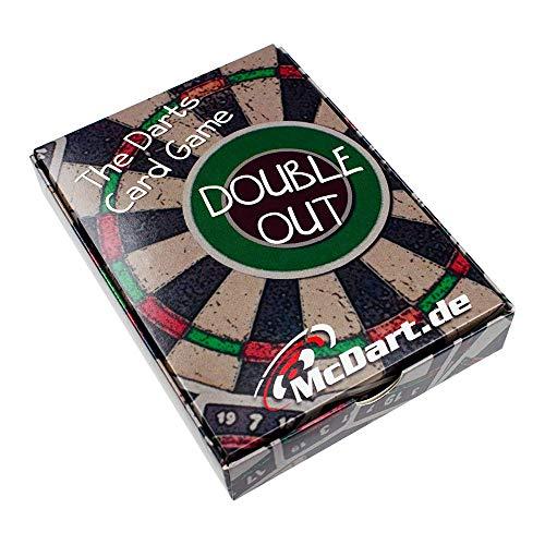McDart Double Out Darts Card Game/Darts Kartenspiel