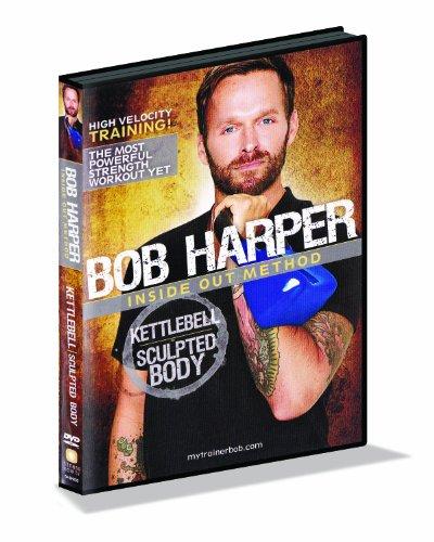 GoFit Bob Harper Kettlebell Sculpted Body 50 Minutes DVD