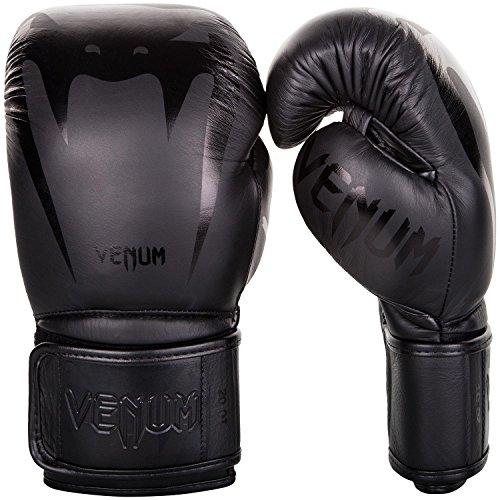 Venum Giant 3.0 Boxhandschuhe Muay Thai, Kickboxing, Schwarz / Schwarz, 12 oz